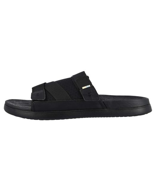 0fd7cd49cf5 ... TOMS - Trvl Lite Sandal (black black Synthetic Nubuck textured Mesh  Mix) ...