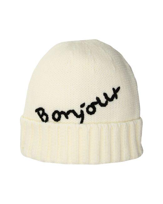 San Diego Hat Company | White Knh34171 Bonjour Beanie | Lyst
