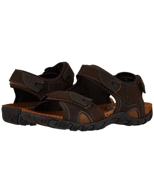 313c0aa59b15 Nunn Bush - Rio Bravo 3-strap River Sandal (brown) Men s Sandals for ...