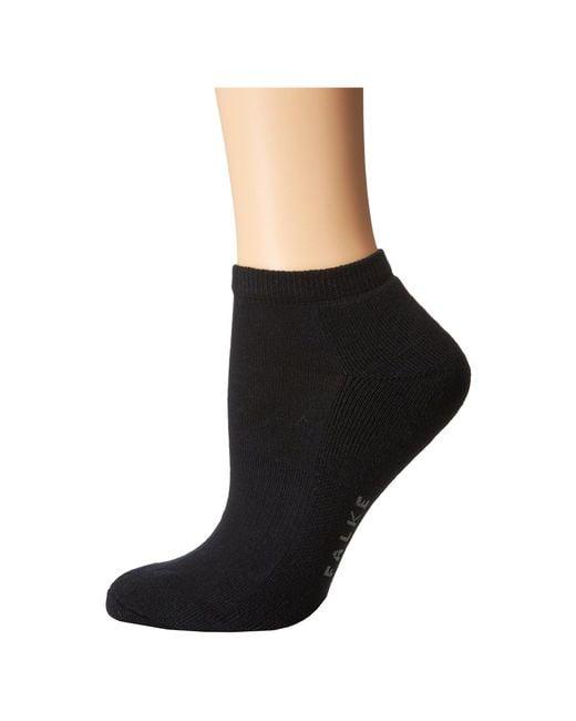Falke - Black Cosy Sneaker Sock (white) Women's Crew Cut Socks Shoes - Lyst