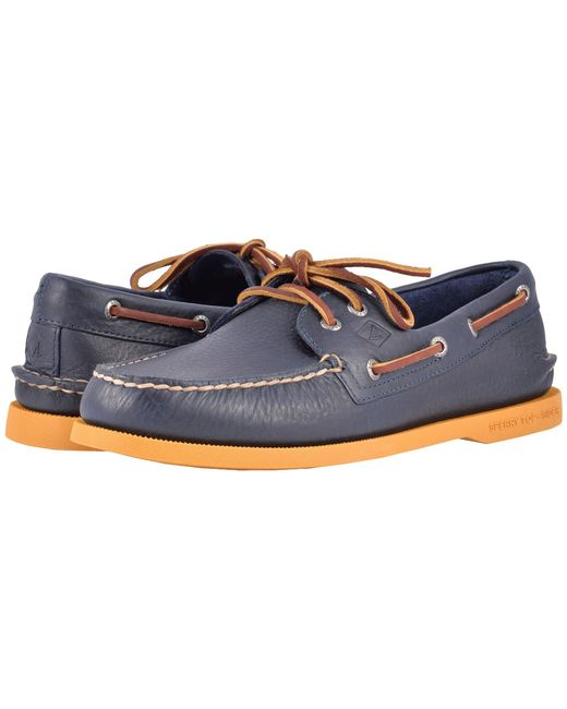 Sperry Top-Sider | Blue A/o 2-eye Color Sole for Men | Lyst