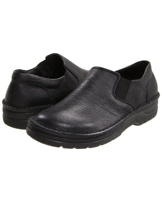 Naot - Black Eiger (french Roast Leather) Men's Slip On Shoes for Men - Lyst