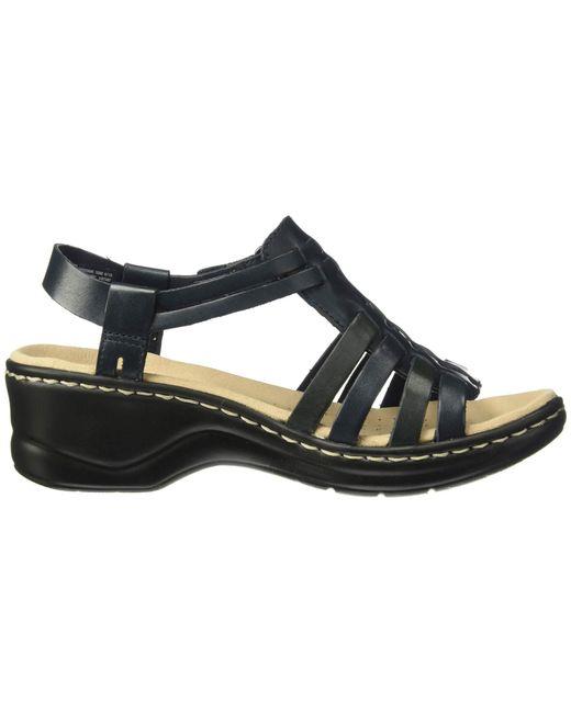 4107187dd30 ... Lyst Clarks - Multicolor Lexi Bridge (white Leather) Women s Dress  Sandals ...