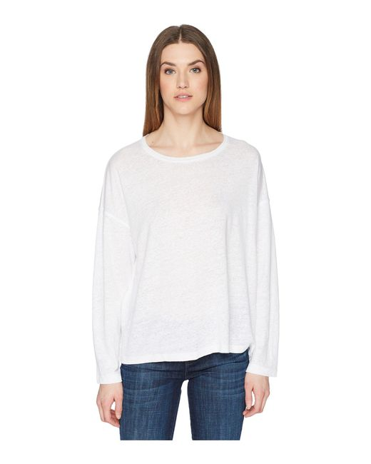 Vince - Shrunken Pullover (optic White) Women's Clothing - Lyst