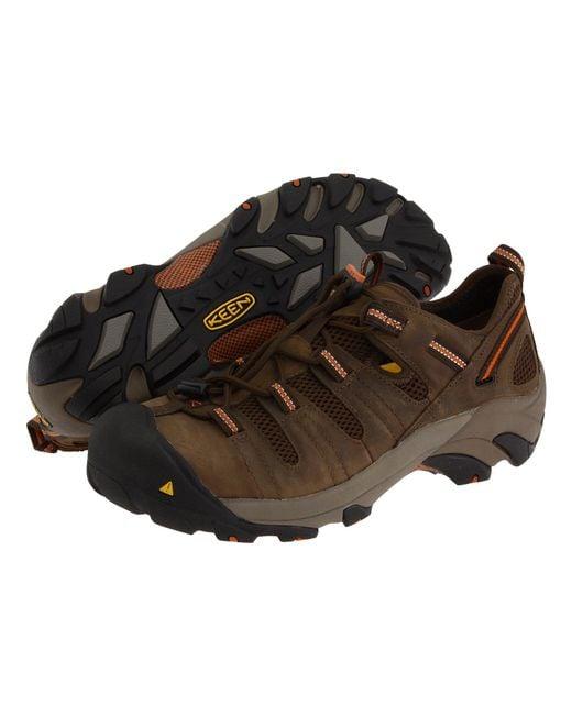 Keen Utility - Brown Atlanta Cool (black/dark Shadow) Men's Industrial Shoes for Men - Lyst