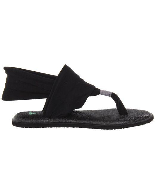 62e4afcb088 Lyst - Sanuk Yoga Sling 2 (charcoal) Women's Sandals in Black - Save 18%