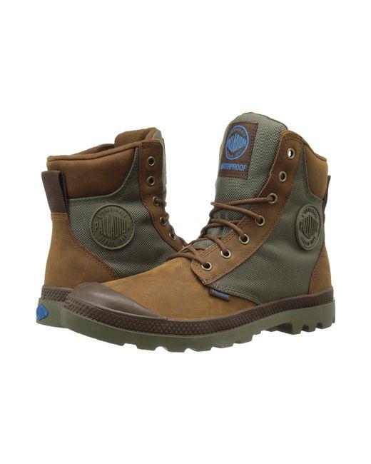 Palladium - Brown Pampa Sport Cuff Wpn (black) Boots - Lyst