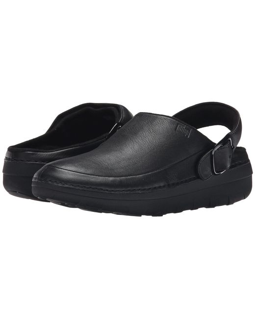 Fitflop - Black Goghtm Pro Superlight (urban White) Women's Clog Shoes - Lyst