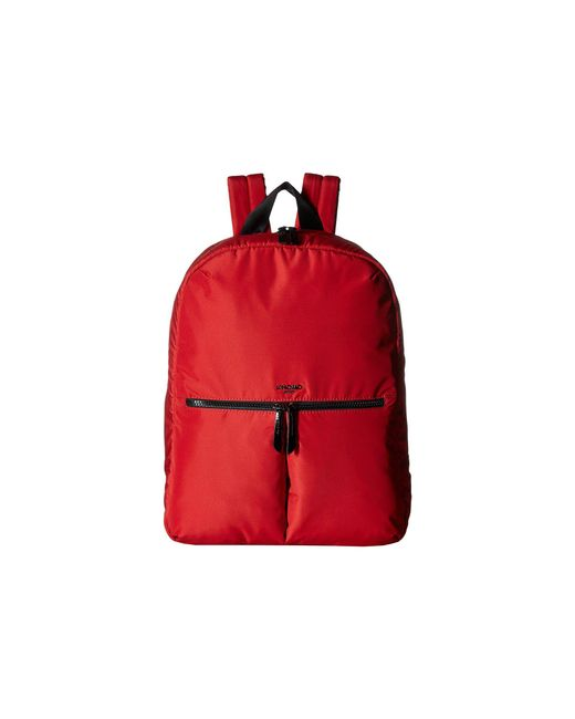 Knomo - Dalston Berlin Backpack (poppy Red) Backpack Bags - Lyst