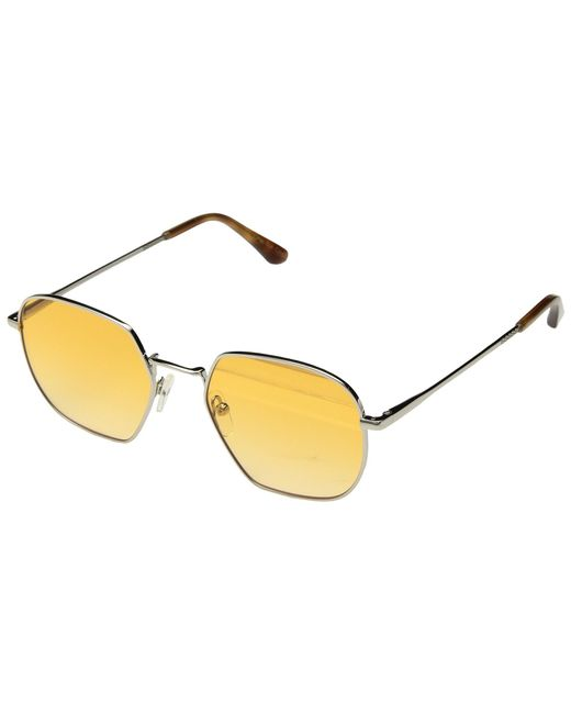 TOMS - Metallic Sawyer (shiny Silver) Fashion Sunglasses - Lyst