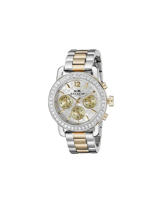 COACH - Metallic Legacy Sport 36mm Bracelet Watch - Lyst
