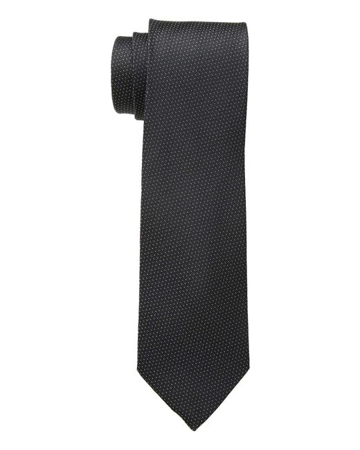 Calvin Klein - Filigree Micro (black) Ties for Men - Lyst