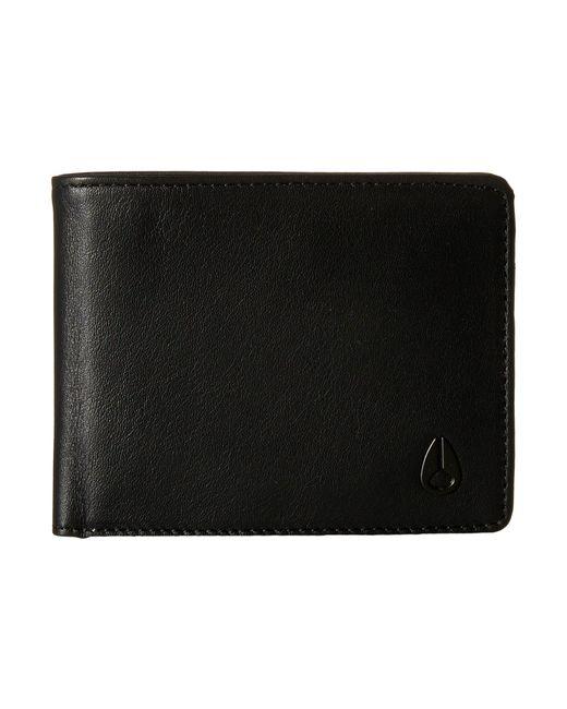 Nixon | Black Cape Bi-fold Wallet | Lyst