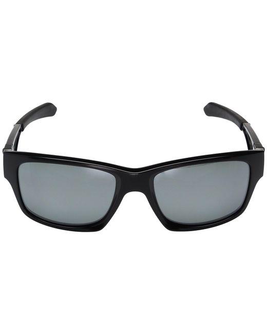 32c427a14c ... Oakley - Jupiter Squared (polished Black W  Prizm Black Polarized) Fashion  Sunglasses for ...
