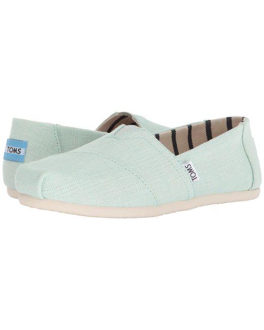 e2bd69f66f0 TOMS - Multicolor Venice Collection Alpargata (aqua Glass Heritage Canvas)  Women s Slip On Shoes ...