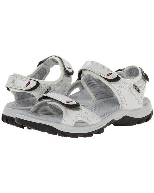 Ecco - White Offroad Lite Sport (moon Rock/moon Rock) Women's Shoes for Men - Lyst
