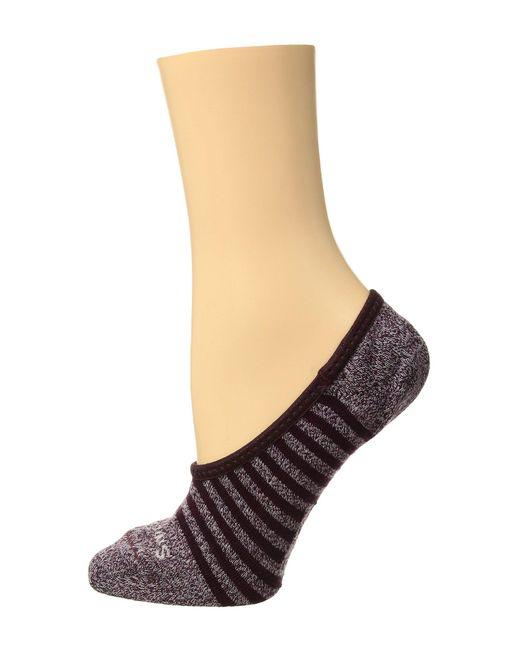 Smartwool - Multicolor Premium Stripe Hide And Seek No Show (black) Women's No Show Socks Shoes - Lyst