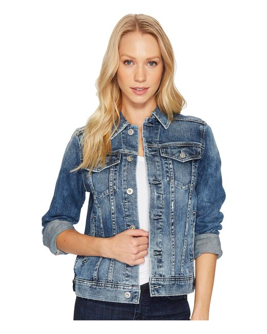 AG Jeans - Mya Jacket (10 Years Magnetic Blue) Women's Coat - Lyst