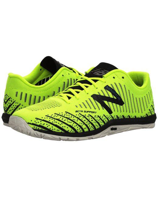 New Balance - Multicolor Minimus 20v7 Trainer (black/white) Men's Cross Training Shoes for Men - Lyst