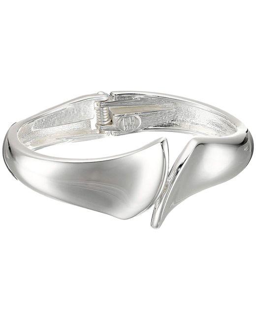 Robert Lee Morris - Metallic Bypass Hinge Bangle Bracelet - Lyst
