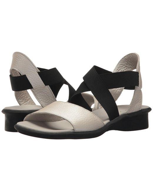 Arche - Black Satia (moon) Women's Sandals - Lyst