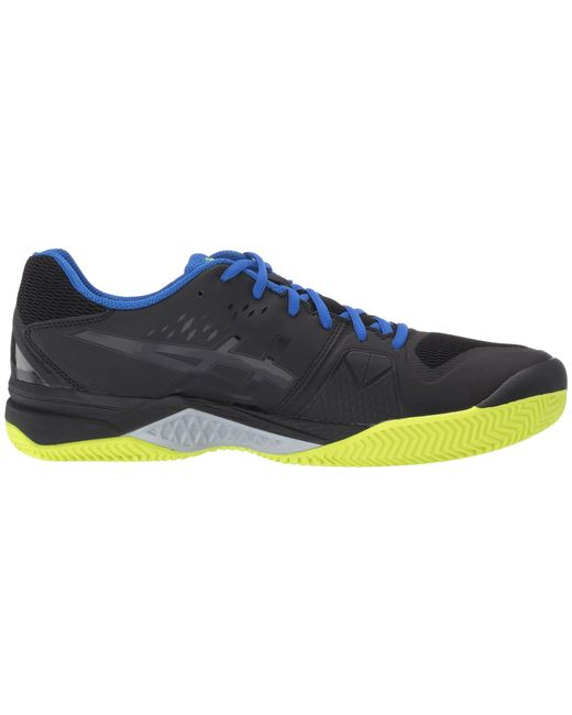 super popular b9356 a3333 ... Asics - Gel-challenger 12 Clay (black silver) Men s Tennis Shoes for ...