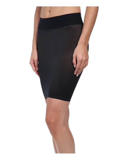Wolford - Black Sheer Touch Forming Skirt - Lyst