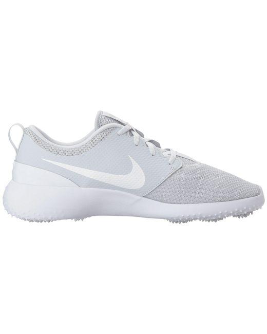 big sale ea91b 685b2 ... Lyst Nike - Roshe G (blackwhite) Mens Golf Shoes for Men ...