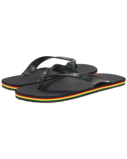 Scott Hawaii - Jawaiian (black) Men's Sandals for Men - Lyst