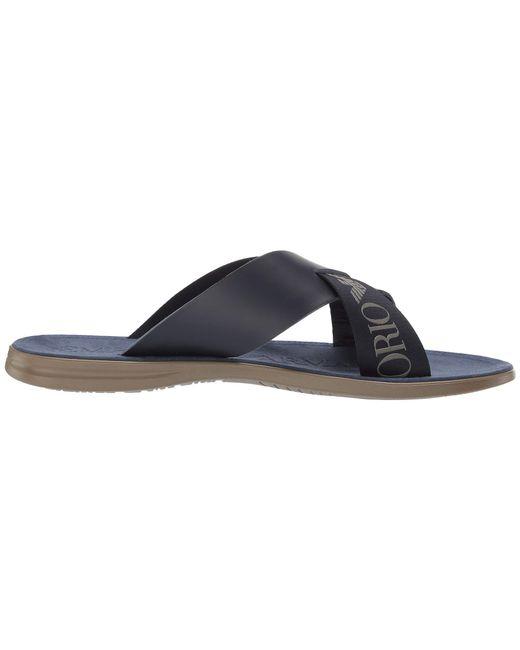 6345b1d9bcdc3d ... Emporio Armani - Black Dubai Sandal (night) Men s Sandals for Men ...