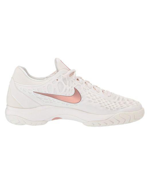bd3e72facb22 Nike Zoom Cage 3 Hc (phantom metallic Rose Gold rose Gold) Women s ...