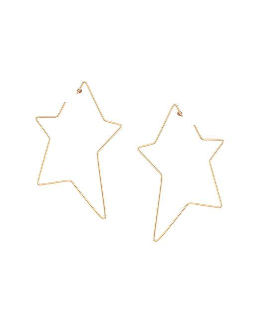Steve Madden - Metallic Open Star Post Earrings - Lyst