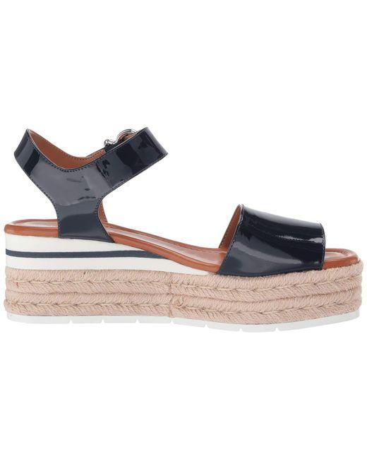 7cb89360340 Lyst - Nine West Layla Espadrille Sandal (dark Blue) Women's Shoes ...