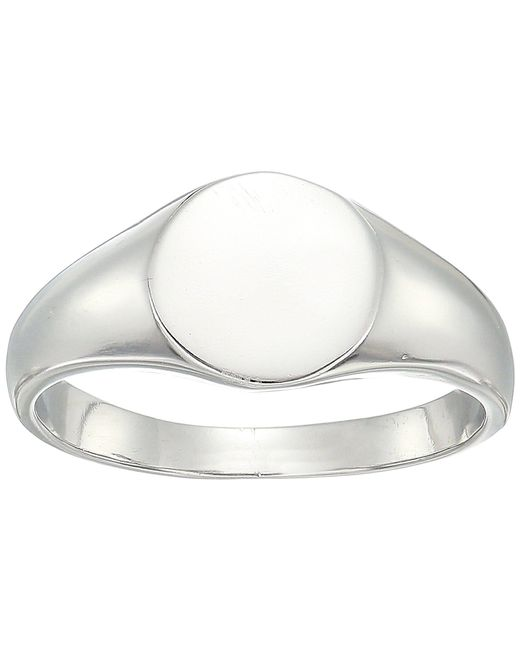 Shashi - Multicolor Signet Ring (white Gold) Ring - Lyst