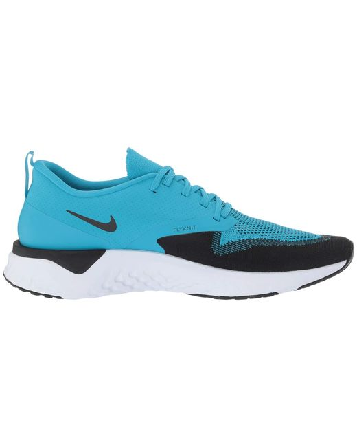 hot sale online ff97b 636ae ... Nike - Odyssey React Flyknit 2 (indigo Force white blue Void red ...