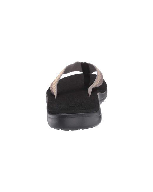 5b80b18e62ce Lyst - Teva Voya Flip (brick Black) Men s Sandals in Black for Men