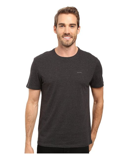 CALVIN KLEIN 205W39NYC - Metallic Short Sleeve Pima Cotton Crew T-shirt for Men - Lyst