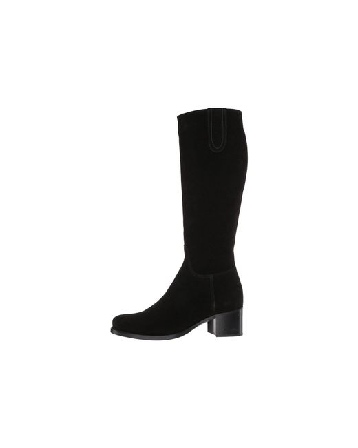 53195f600dc Lyst - La Canadienne Polly (brown Oiled Suede) Women s Boots in Black