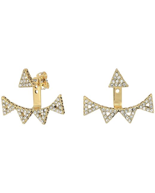 House of Harlow 1960 - Metallic Alps Pave Ear Jacket - Lyst