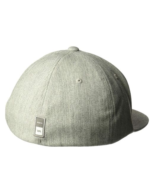 c8c20070 RVCA Sport Flexfit (heather Grey) Caps in Gray for Men - Save 14% - Lyst