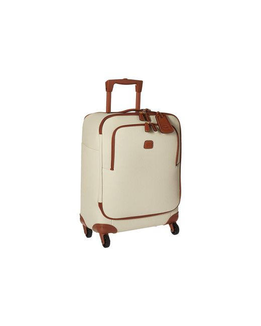 Bric's - Natural Firenze - 21 Carry-on Spinner (cream) Luggage for Men - Lyst