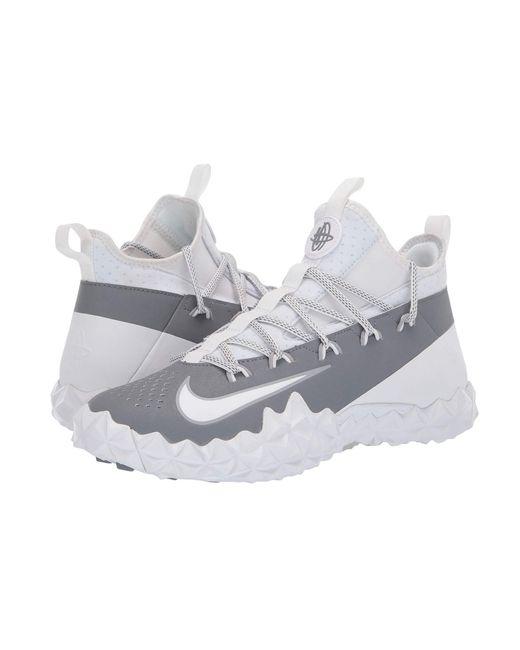 80477cb3ff51 Lyst - Nike Alpha Huarache 6 Elt Turf Lax (white white cool Grey ...