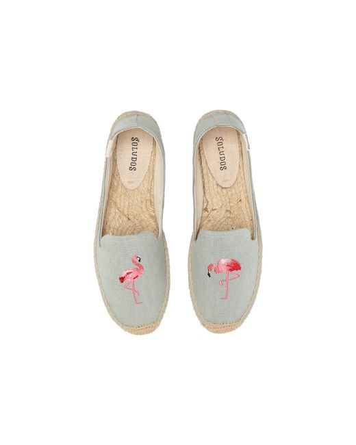 Soludos - Multicolor Smoking Slipper Embroidery - Lyst