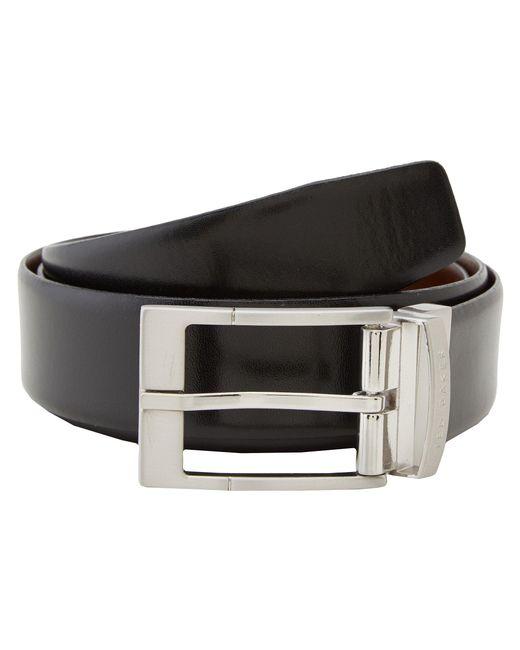 Ted Baker - Connary Reversible Belt (black 1) Men's Belts for Men - Lyst