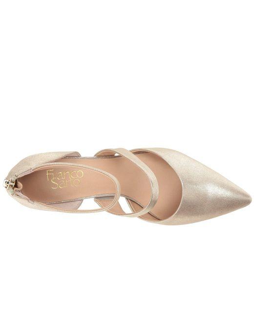0fadab29e5a ... Franco Sarto - Multicolor Davey (lapis Blue Diva Suede metallic)  Women s Shoes ...