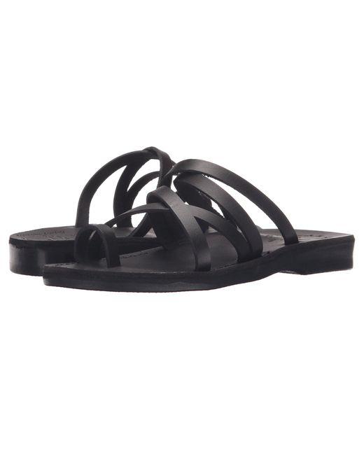 Jerusalem Sandals - Ariel - Womens (black) Women's Shoes - Lyst