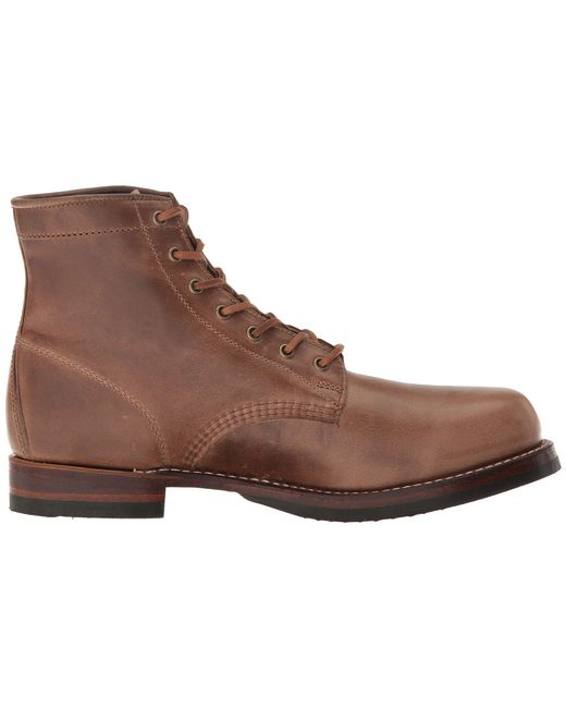 96592bd13b9 ... Frye - Brown John Addison Lace-up (black Waterproof Smooth Pull Up)  Men s ...
