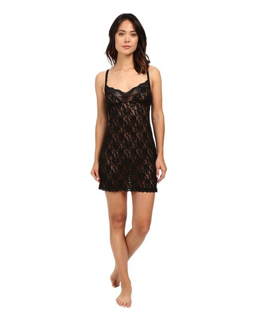 Hanky Panky - Black Fitted Chemise - Lyst