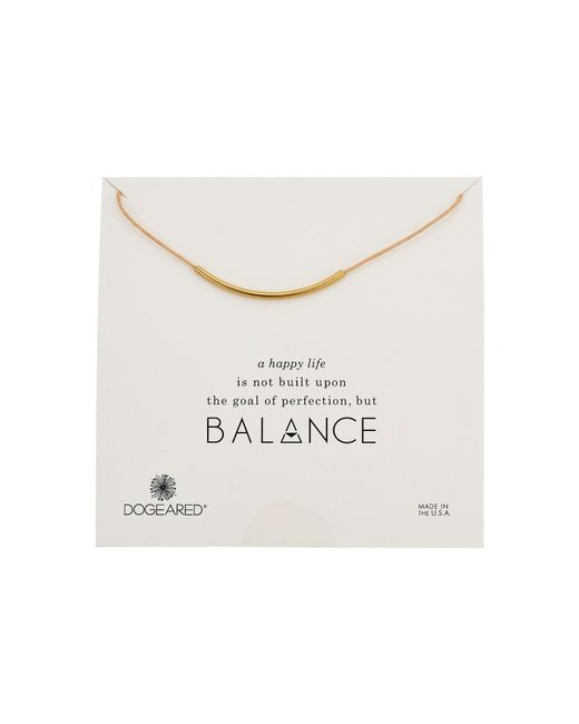 Dogeared | Metallic Balance Adjustable Cord Necklace | Lyst