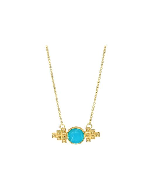 House of Harlow 1960 - Metallic Nuri Pendant Necklace (gold) Necklace - Lyst